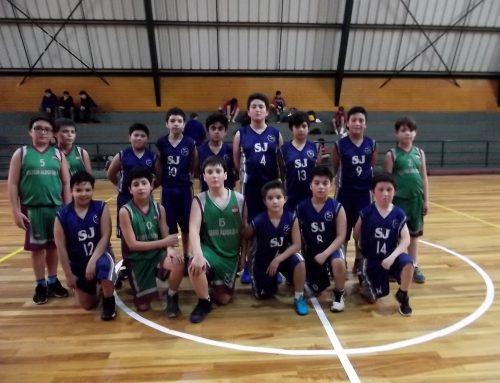 Encuentro de Basquetbol